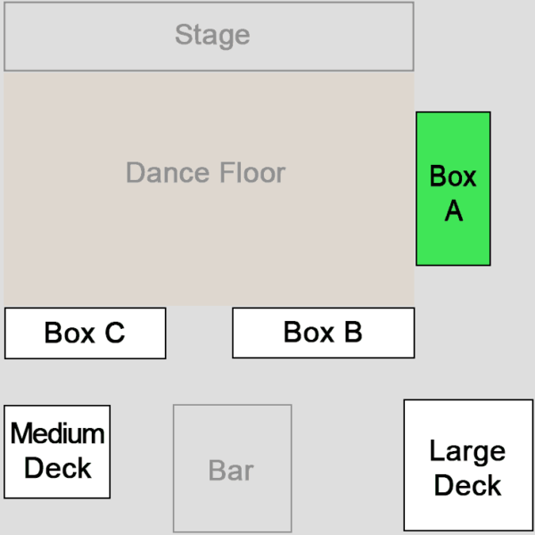 reserved-seating-box-a-joyland-country-music-night-club